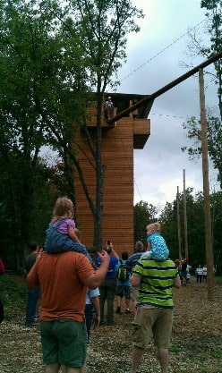 Leap of Faith at Bear River Ranch